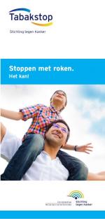 Brochure: Stoppen met roken. Het kan!