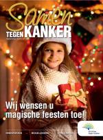 """Cover """"Samen tegen kanker"""" december 2017"""