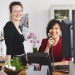 Nathalie et Sabrina répondent au Cancerinfo de la Fondation contre le Cancer