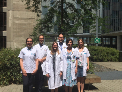 Team van professor Michel Delforge