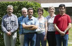 Team van professor Pierre Roger