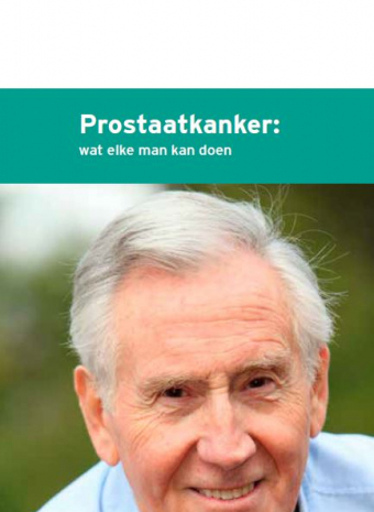 "cover ""prostaatkanker, wat elke man kan doen"""