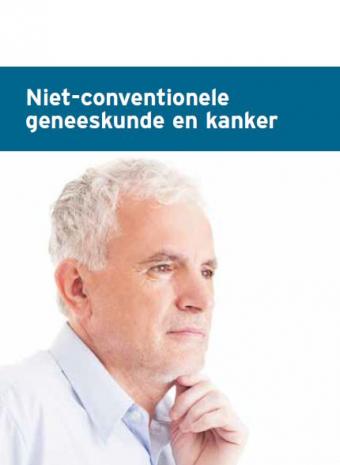 Cover 'Complementaire geneeskunde en kanker'