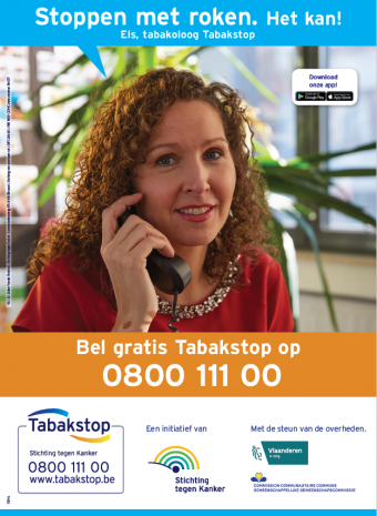 Affiche A4 Tabakstop