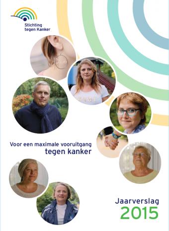 Jaarverslag 2015 Stichting tegen Kanker