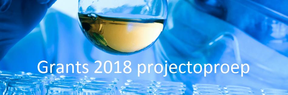 Grants 2018 projectoproep