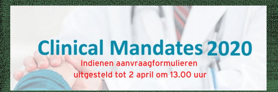 Clinical Mandates 2020