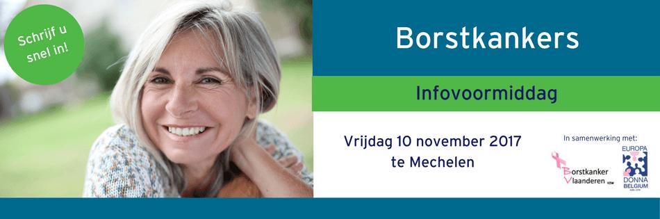 Infovoormiddag Brostkankers 2017