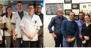 Team van professoren Piet Ost & Wouter Everaerts