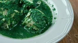 Paling in het groen - Anguille au vert