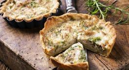 tonijn-groenten quiche thon-légumes