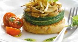 torentje van tofoe en groenten