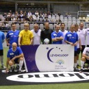 BV's en ex-Rode Duivels voetballen voor Stichting tegen Kanker