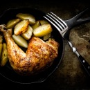 Recette de poulet aux poires et aux navets
